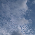 Sky Blue White Clouds 009