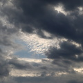 Sky Blue Dramatic Clouds 001