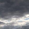 Sky Blue Dramatic Clouds 002