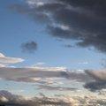 Sky Blue Dramatic Clouds 004