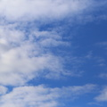Sky Blue White Clouds 010