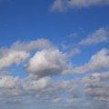 Sky Blue White Clouds 019