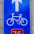 Sign Road 023