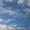 Sky Blue White Clouds 034
