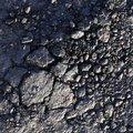 Road Asphalt Damaged 046