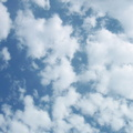 Sky Blue White Clouds 041