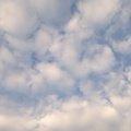 Sky Blue White Clouds 044